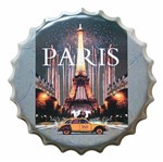 Placa Decorativa 25x25cm Paris LPQC-026 - Litocart
