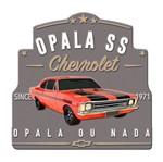 Placa Decorativa em Alumínio Opala ou Nada Urban