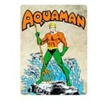 Placa Decorativa em MDF Aquaman DC Comics