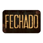 Placa Decorativa Fechado 20x12cm Dhpm-098 - Litoarte