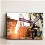 Placa Decorativa Foto New York Fifth Ave 20x30cm