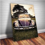 Placa Decorativa Fusca Carro Vintage
