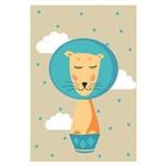 Placa Decorativa Infantil Circo Leão MDF 20x30cm