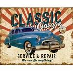 Placa Decorativa Litoarte Dhpm-213 24x19cm Classic Garage