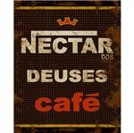 Placa Decorativa Litoarte Dhpm-219 24x19cm Rótulo Café Néctar