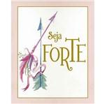 Placa Decorativa Litoarte Dhpm-328 24x19cm Seja Forte