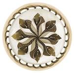 Placa Decorativa Litoarte Dhpm6-010 29,5x29,5cm Mandala Bege