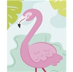 Placa Decorativa Litocart LPMC-127 24,5x19,5cm Flamingo
