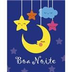 Placa Decorativa Litocart LPMC-129 24,5x19,5cm Boa Noite
