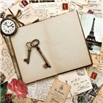 Placa Decorativa Madeira Pequena Dama Lppc-04 - Litocart