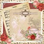 Placa Decorativa Madeira Pequena Nota Musical Lppc-03 - Litocart