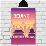 Placa Decorativa MDF Beijing