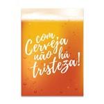 Placa Decorativa MDF com Cerveja
