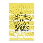 Placa Decorativa MDF Frase Smile