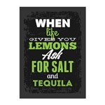 Placa Decorativa MDF Frase Vida e Tequila