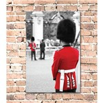Placa Decorativa MDF Guarda Londres 30x40
