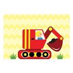 Placa Decorativa MDF Infantil Tratorzinho