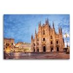 Placa Decorativa MDF Itália Catedral de Milão 20x30cm