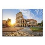Placa Decorativa MDF Itália Coliseum Viagem 30x40cm