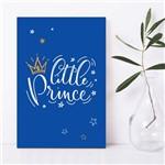 Placa Decorativa Quarto de Bebê Pequeno Príncipe 30x40cm