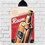 Placa Decorativa MDF Rum