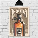 Placa Decorativa MDF Tequila 30x40