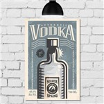 Placa Decorativa MDF Vodka