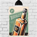 Placa Decorativa MDF Whiskey 30x40