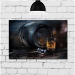 Placa Decorativa MDF Whisky