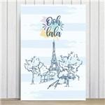 Placa Decorativa Paris França Oolala MDF 30x40