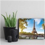 Placa Decorativa Paris Torre Eiffel Cidades Viagem 30x40cm