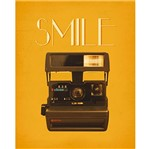 Placa Decorativa Smile 24x19cm Dhpm-143 - Litoarte