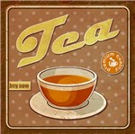 Placa Decorativa Tea 19,5x19,5cm Dhpm-178 - Litoarte
