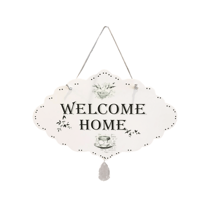 Placa Decorativa Welcome Home MDF