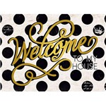 Placa Decorativa Welcome 23X16,8cm DHPMH-001 - Litoarte