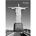 Placa Decorativa 32x21,5cm Corcovado Rio de Janeiro Lpqm-019 - Litocart