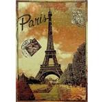 Placa Decorativa 32x21,5cm Paris França Lpqm-015 - Litocart