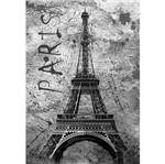 Placa Decorativa 32x21,5cm Torre Eiffel Paris Lpqm-013 - Litocart