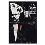 Placa Decorativo em Mdf 22x33 o Poderoso Chef Dhpm5-133 - Litoarte