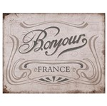 Placa em Mdf e Papel Decor Home Banjour France Dhpm-051 - Litoarte