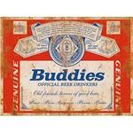 Placa em MDF e Papel Decor Home Buddies DHPM-118 - Litoarte