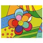 Placa em Mdf e Papel Decor Home Flor Dhpm-067 - Litoarte
