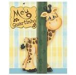 Placa em Mdf e Papel Decor Home Girafa Dhpm-044 - Litoarte