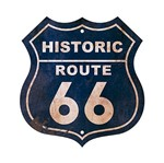 Placa em Mdf e Papel Decor Home Historic Route 66 Dhpm-022 - Litoarte