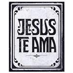 Placa em Mdf e Papel Decor Home Jesus te Ama Dhpm-061 - Litoarte