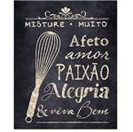 Placa em Mdf e Papel Decor Home Misture Muito Dhpm-019 - Litoarte