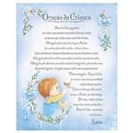 Placa em Mdf e Papel Decor Home Oração da Criança Dhpm-059 - Litoarte