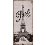 Placa em Mdf e Papel Decor Home Paris Dhpm3-001 - Litoarte