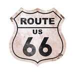Placa em Mdf e Papel Decor Home Route 66 Dhpm-023 - Litoarte