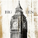Placa em MDF e Papel Decor Home Torre Big Ben DHPM-125 - Litoarte